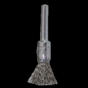1171 - Cepillo tipo copa de Alambre inoxidable ondulado