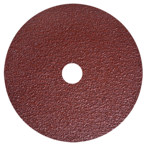 1376 - Discos de lija rojo con respaldo de fibra vulcanizada.