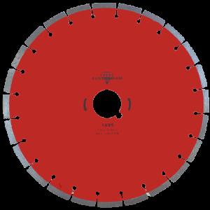 1495 - Disco de diamante rojo segmentado Cantera