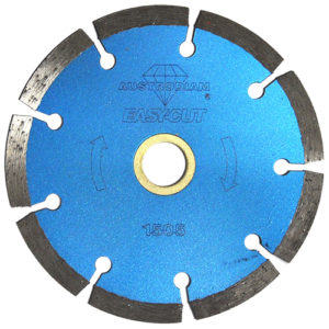 1505 - Disco de diamante azul segmentado Easy-cut