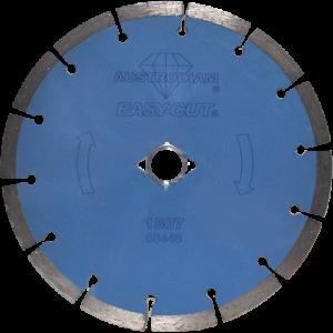 1507 - Disco de diamante azul segmentado Easy-cut