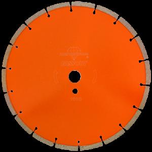1508 - Disco de diamante naranja segmentado Corte de concreto curado