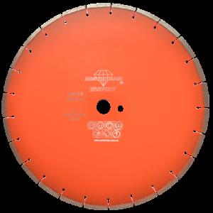 1511 - Disco de diamante naranja segmentado Corte de concreto curado