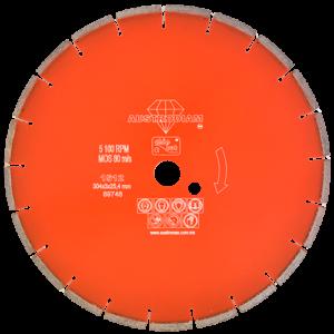 1512 - Disco de diamante naranja segmentado Corte de concreto curado
