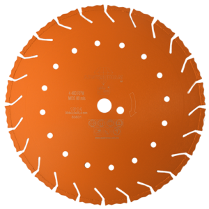 1514 - Disco de diamante naranja segmentado Corte de concreto curado