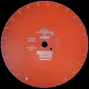 1518 - Disco de diamante naranja segmentado Corte de concreto curado
