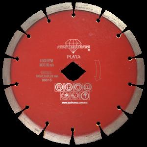 1520 - Disco de diamante rojo segmentado Cantera