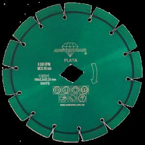 1521 - Disco de diamante verde segmentado Granito