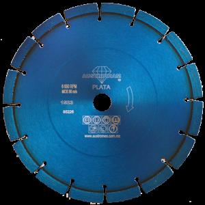1523 - Disco de diamante azul segmentado Uso General