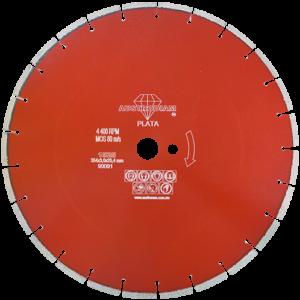 1525 - Disco de diamante rojo segmentado Cantera
