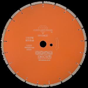 1526 - Disco de diamante naranja segmentado Corte de concreto curado