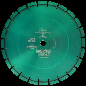 1531 - Disco de diamante verde segmentado Granito