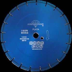 1532 - Disco de diamante azul segmentado Uso General