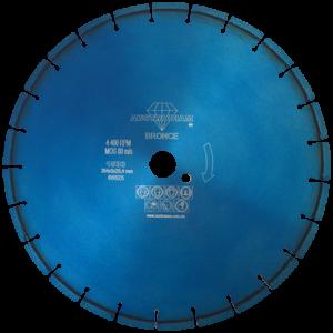 1533 - Disco de diamante azul segmentado Uso General