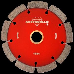 1534 - Disco de diamante rojo segmentado Cantera