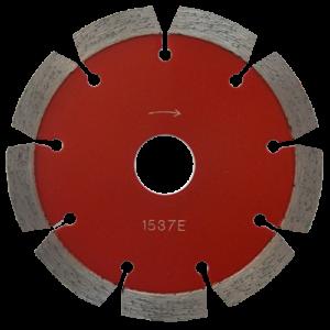 1537 - Disco de diamante rojo segmentado Cantera