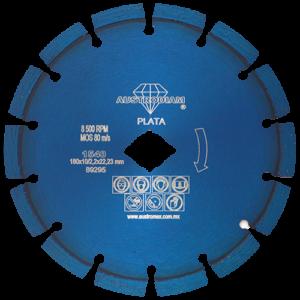 1540 - Disco de diamante azul segmentado Uso General
