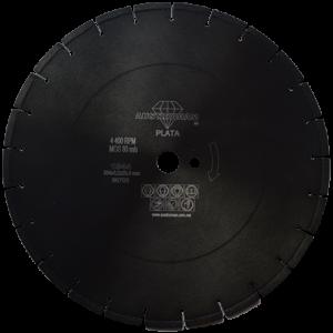 1544 - Disco de diamante negro segmentado Refractario