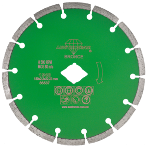 1548 - Disco de diamante verde segmentado Granito