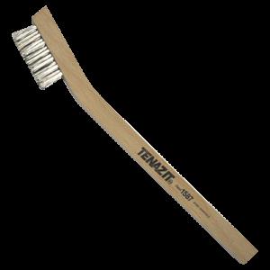 1587 - Cepillo manual Inoxidable con mango de madera