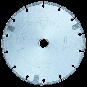 1593 - Disco de diamante segmentado Soldado al vacio