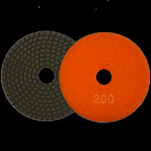 1594 - Pad de diamante Pulido en humedo grano 200