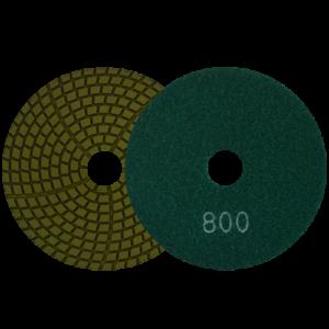 1596 - Pad de diamante Pulido en humedo grano 800