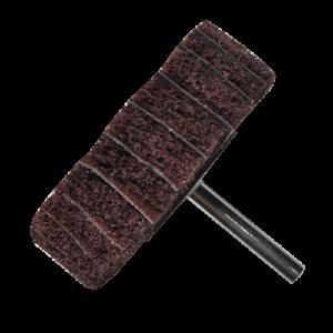1603 - Rueda de fibra/lija con vástago Grano medio