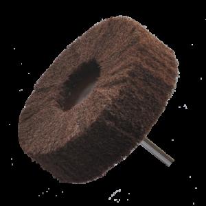 1607 - Rueda de fibra con vástago Grano fino