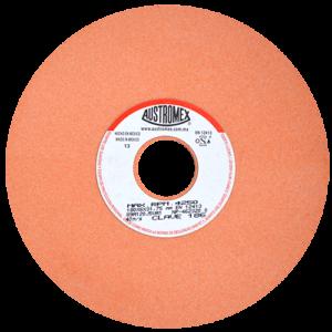 186 - Rueda naranja vitrificada para esmerilado de acero