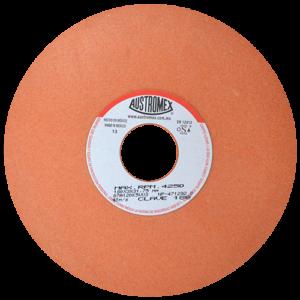 188 - Rueda naranja vitrificada para esmerilado de acero