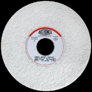193 - Rueda blanca vitrificada para esmerilado de acero
