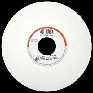 195 - Rueda blanca vitrificada para esmerilado de acero