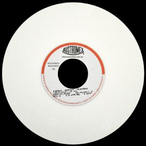 197 - Rueda blanca vitrificada para esmerilado de acero