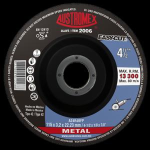 2006 - Disco con centro deprimido para corte de metal