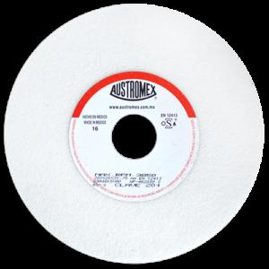 201 - Rueda blanca vitrificada para esmerilado de acero
