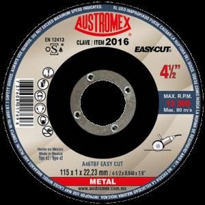 2016 - Disco con centro deprimido para corte de metal - SP