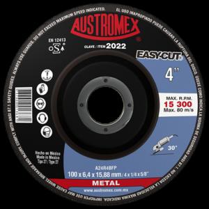 2022 - Disco con centro deprimido para desbaste de metal