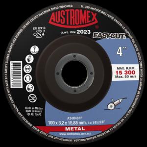 2023 - Disco con centro deprimido para corte de metal