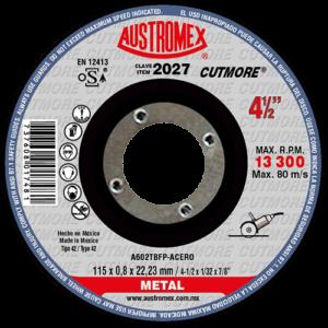2027 - Disco con centro deprimido para corte de metal - SP