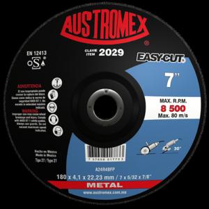 2029 - Disco con centro deprimido para corte de metal