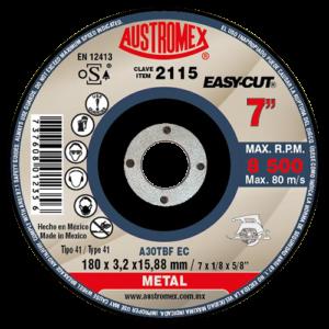2115 - Disco para corte de metal
