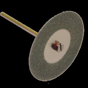 2148 - Disco de diamante rin continuo con vastago Electrodepositado