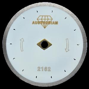 2162 - Disco de diamante blanco rin continuo Porcelanato con desahogos tipo flecha