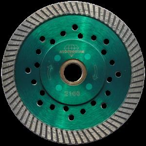 2166 - Disco de diamante verde turbo Granito