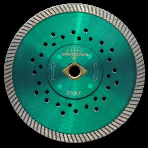 2167 - Disco de diamante verde turbo Granito