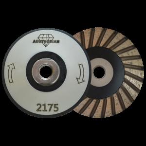 2175 - Copa de diamante turbo Cuerpo de aluminio-hule