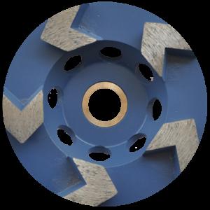 2179 - Copa de diamante con segmentos tipo flecha Fastcut