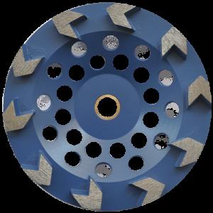 2180 - Copa de diamante con segmentos tipo flecha Fastcut