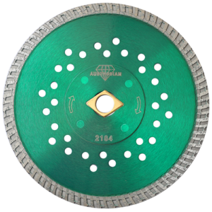 2184 - Disco de diamante verde turbo Granito